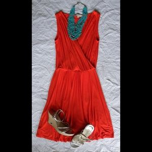 Loft Jersey Wrap Dress, size S